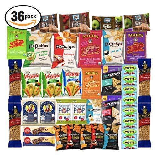 - Healthy Bar Snack Mix - Sweet and Salty Granola Bar Variety Pack - Nature Valley, Kashi, Quaker - 72 Bar Bundle