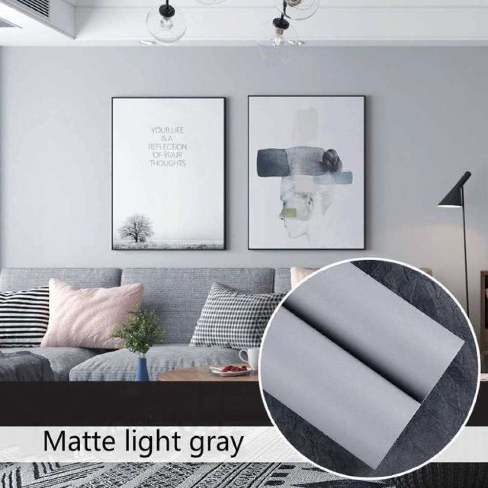 lsaiyy Papel Pintado Autoadhesivo Impermeable hogar Color sólido Pegatinas de Pared decoración del hogar Dormitorio Dormitorio Suministros Pegatinas de Interior como se Muestra 60cmX1M: Amazon.es: Hogar