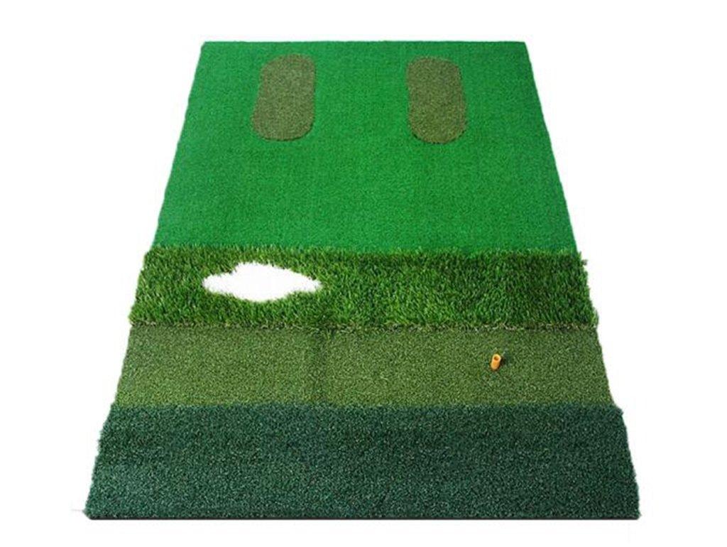 ZHDC®ゴルフパッドゴルフ練習用マットゴルフ練習用ブランケット屋内練習用ボールパッドゴルフ個人用練習用マット   B077R9D1JD