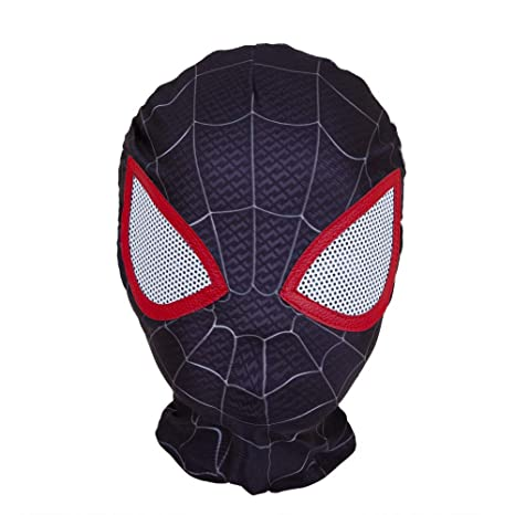 ZUOZHE Negro Spiderman Nios Adulto Cosplay Spider-Man Traje ...