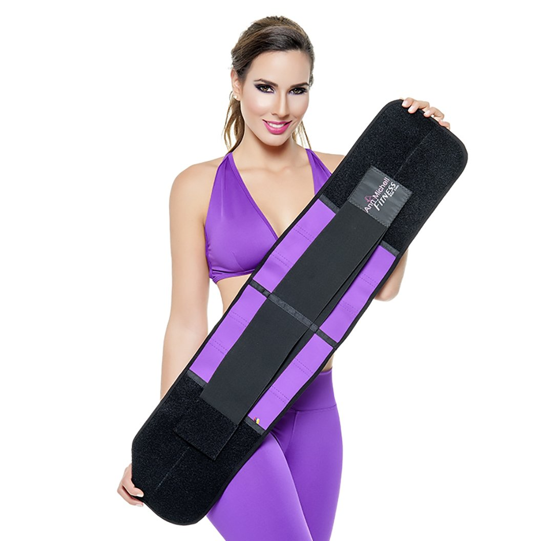 Ann Michell 4025 Fitness Waist Girdle with Latex