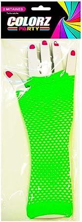 Les Tr/ésors De Lily Q5452 - Mitaines Coloriage Jaune Fluo