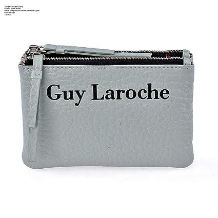 Monedero Plano Mujer Doble Cremallera Guy Laroche 7248 ...