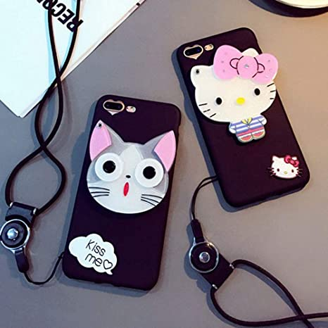 iPhone 6 Plus Mirror CaseCartoon Cat