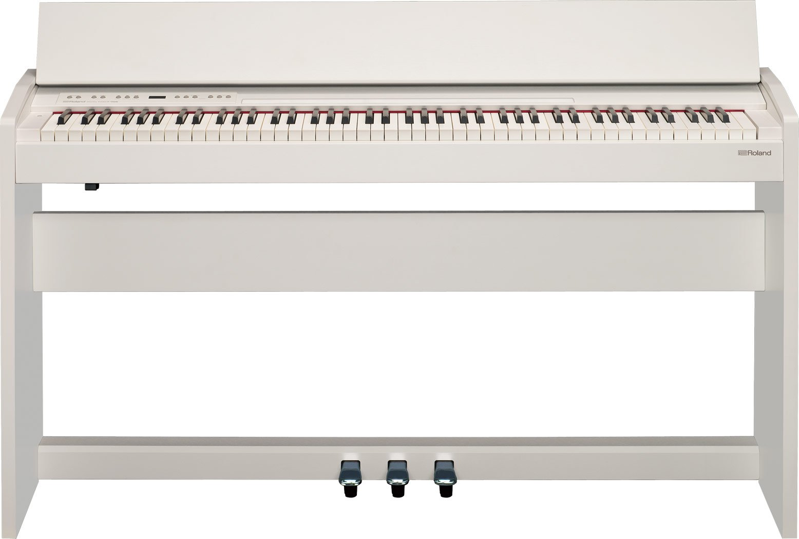Roland Compact 88-key Digital Piano with Built-In Speaker, white (F-140R-WH) by Roland