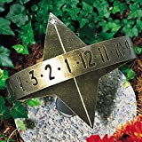 Whitehall Products Sun Clock Sundial, French Bronze