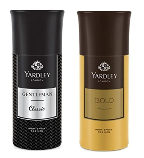 dd4f4a293ee Buy Yardley London Men s Deodorant Gentleman and Gold (150ml) - Combo of 2  Online at Low Prices in India - Amazon.in