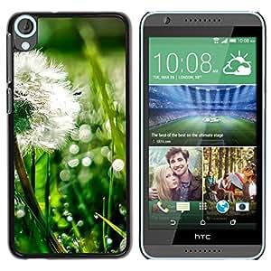 Smartphone Rígido Protección única Imagen Carcasa Funda Tapa Skin Case Para HTC Desire 820 Plant Nature Forrest Flower 43 / STRONG