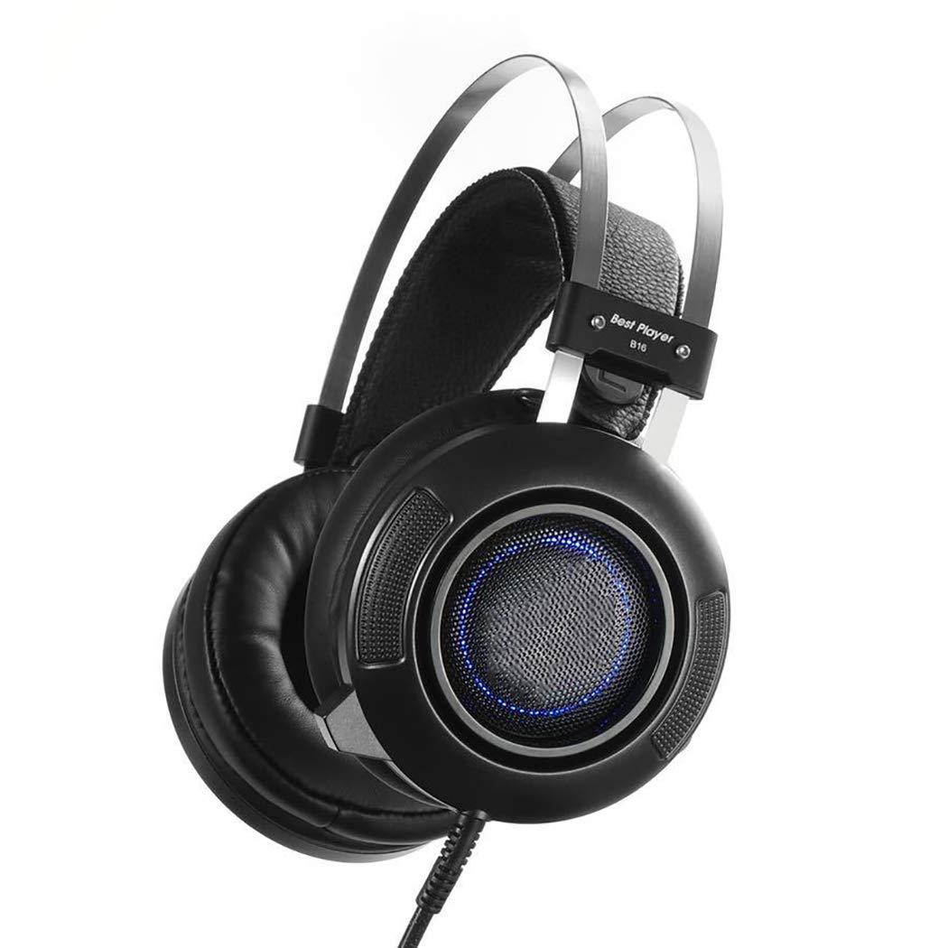 Auriculares para juegos + Micrófono de reducción de ruido ...