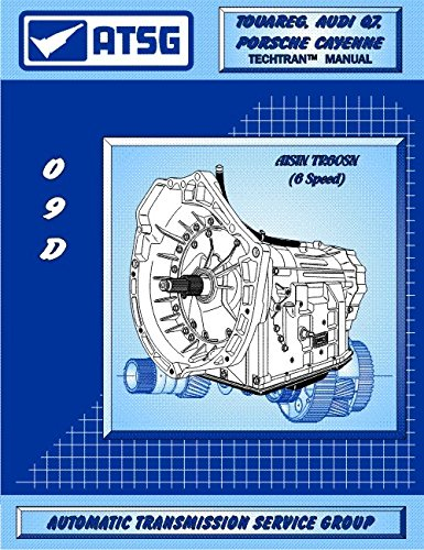 ATSG VW 09D TR60SN Transmission Repair Manual VW 09D Valve Body TR60SN Valve Body TR60SN Transmission Best Repair Book Available