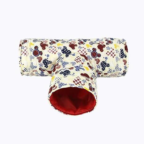 Nicedeal Hamster - Túnel de juguete para mascotas, pequeño, con ...