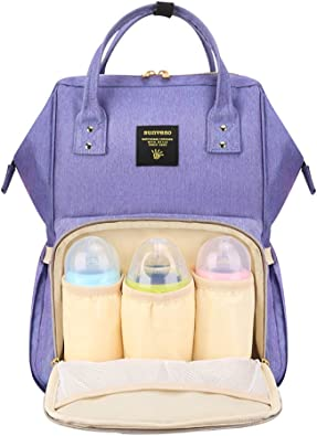 Mummy Maternity Nappy Bag Large Baby Diaper Bag Travel Backpack Nursing Bag