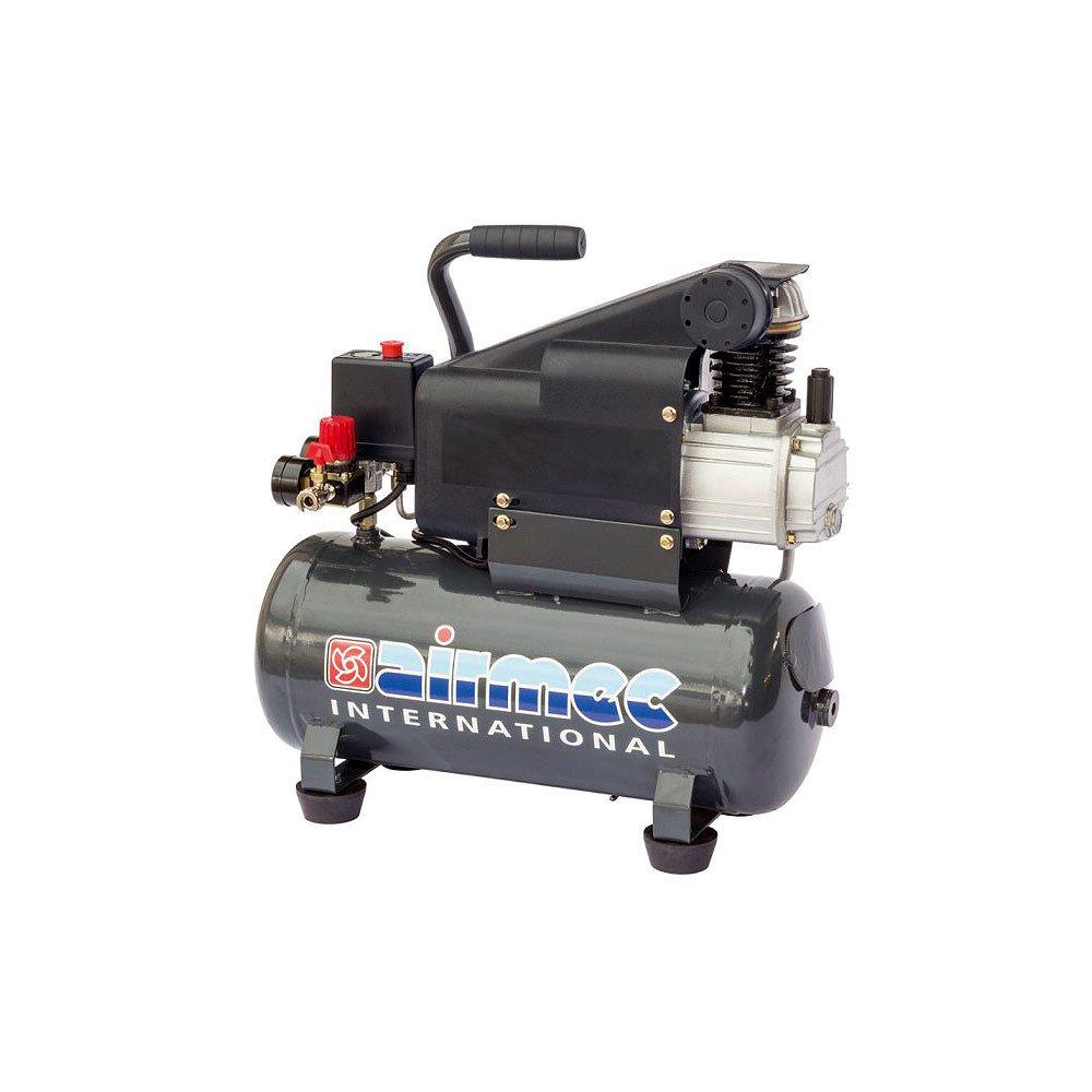chc 12/150 speroni airmec Compresor de aire monocilindro 1,1kw Cuello/min Depósito litros Funcionamiento Automático válvulas Control manómetro desagüe de ...
