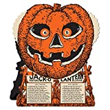 Club Pack of 12 Jack-O-Lantern Fortune Wheel Party Favor Halloween Game 9''
