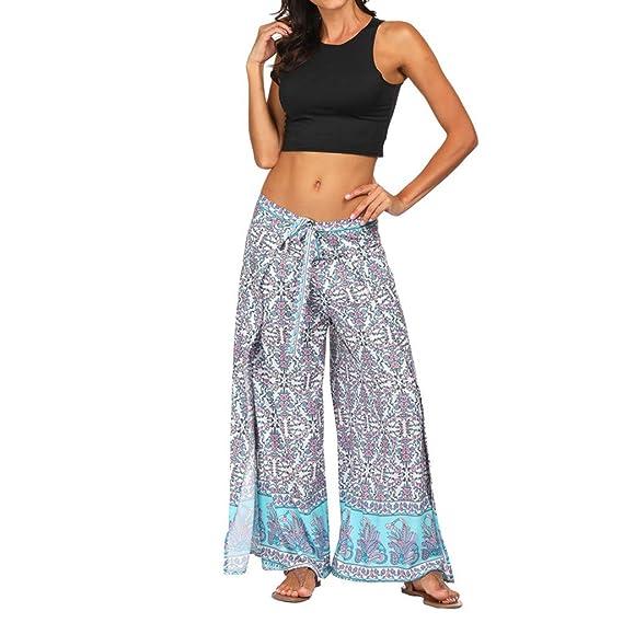 Pantalones de Mujer Pantalones Yoga Sueltos Verano Mujer ...