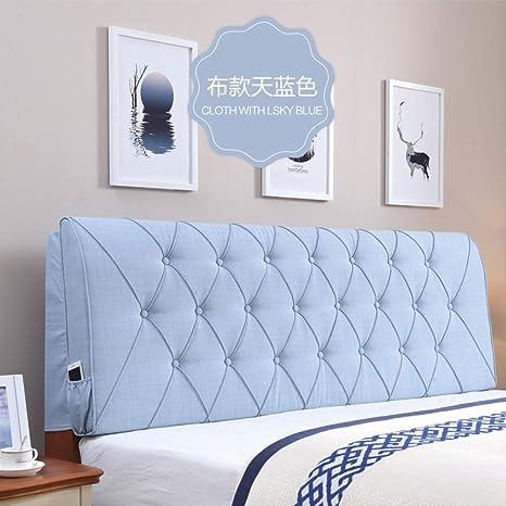 Amazon.com: Cojín tapizado de piel para cama, cama de ...