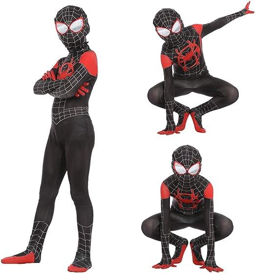Leezeshaw Superhéroe Spiderman Disfraces Unisex Adultos Niños ...