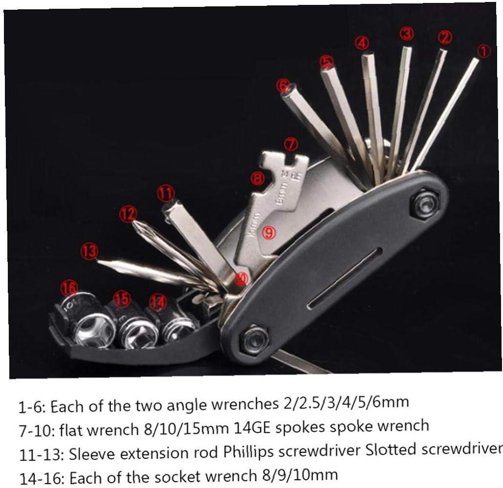 Professional 11 in 1 Bicycle Repair Tools Sets Multifunction Bike Multi Repair Kit Hex Spoke Wrench Screwdriver Set
