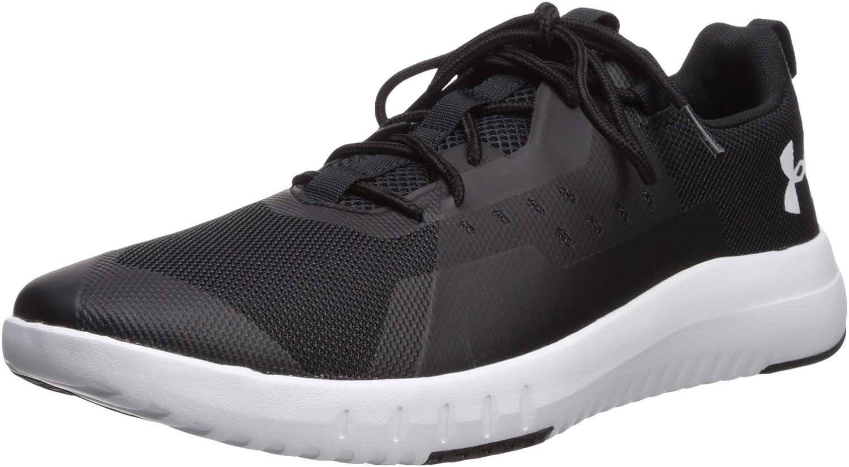 //White 13 Black 002 Under Armour Mens TR96 Sneaker