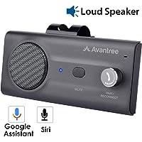 Avantree CK11 Kit Bluetooth Manos Libres Coche, Altavoz