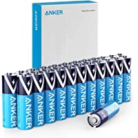 Anker Alkaline AA Batteries (24-Pack), Long-Lasting & Leak-Proof with PowerLock Technology, High Capacity Double A…