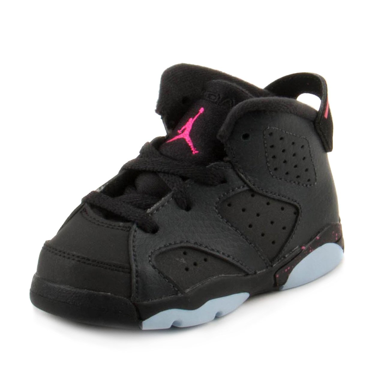 Nike Baby Girls Jordan 6 Retro GT Anthracite/Black Leather Size 5C by Jordan