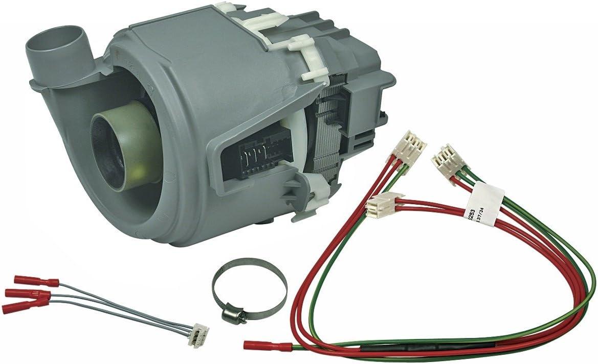 Bomba de calefacción para lavavajillas Bosch Siemens 00654575 654575 como Küppersbusch 436682 ig igs igv 3vf 3vs s21 s31 s41 s42 s51 s52 sbi sbu sbv smd smi cg df di sms smu smv smv sn