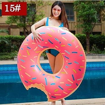 YRQSWA Anillo de natación Inflable Sala de la Piscina Gigante ...