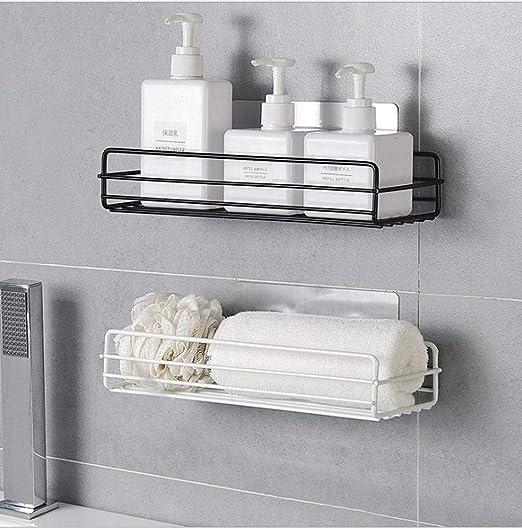 Gifts 1Pc Adhesive Bathroom Wall Mounted Organizer Shelf Kitchen Storage Rack