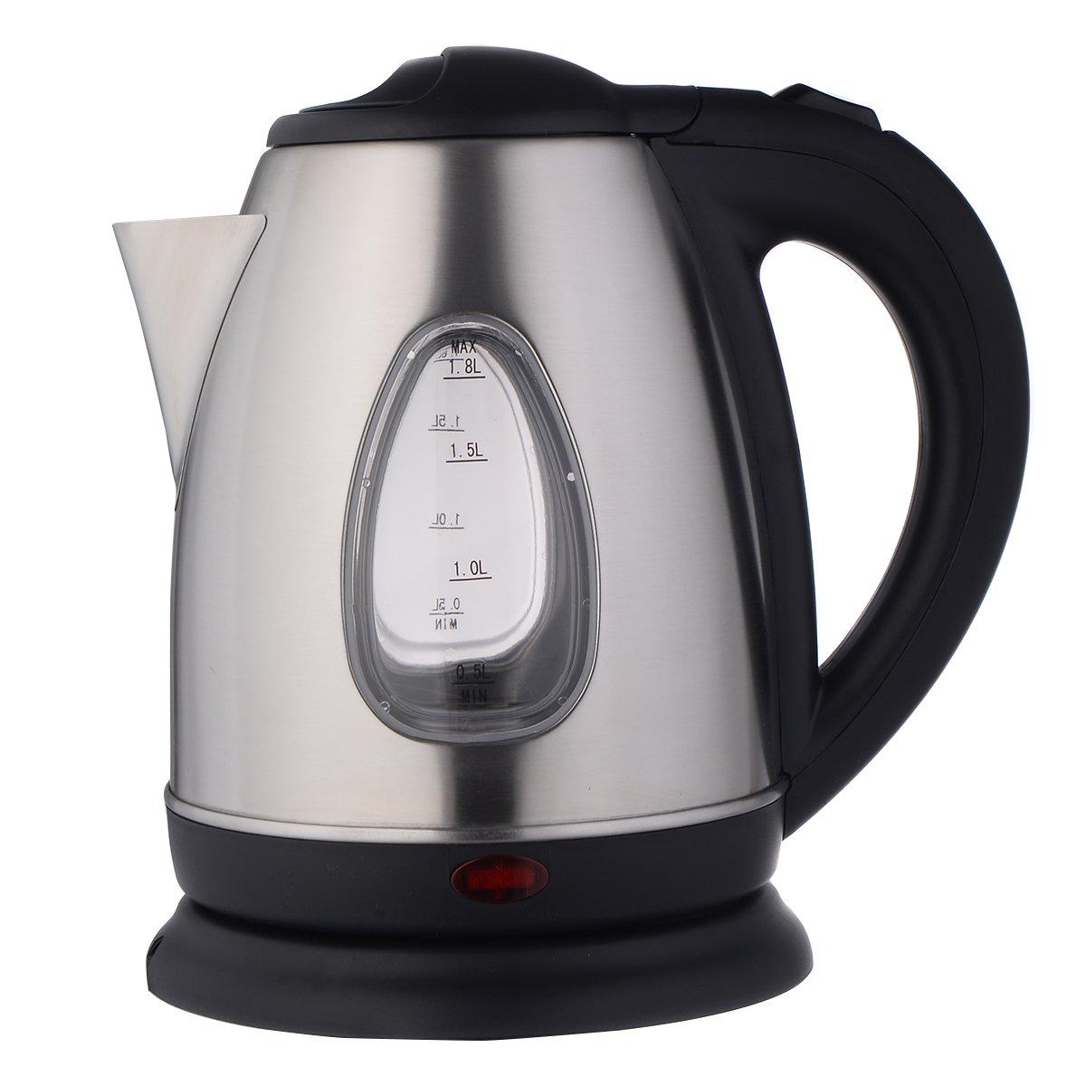 Amazon.com: Giantex 1500W 1.8 Liter Electric Kettle Tea Hot Water ...