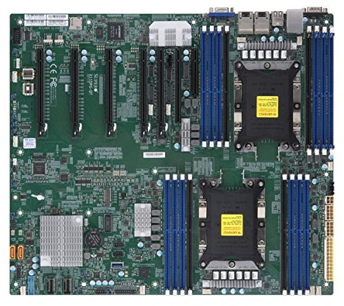 Motherboard Ethernet Supermicro (Supermicro X11DPG-QT Motherboard)