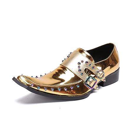 Zapatos de Hombre Zapatos de Cuero de la Novedad Primavera/Otoño/Invierno Comodidad/