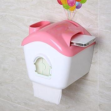 Mehrfach Farbiger Wasserdichter Sucker Toilettenpapierhalter