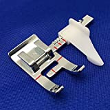 #8: Adjustable Guide Sewing Machine Presser Foot Fits Low Shank Domestic Sewing Machine, Snap On Brother, Babylock, Singer, Janome , Juki, New Home.