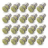 KAFEEK 20× Super Bright 1156 1141 1003 7506 BA15S 50-3014SMD LED Bulbs 12