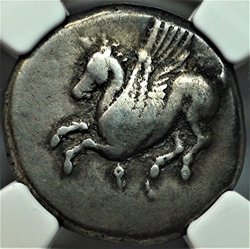 GR 4th Century BC Ancient Greece Greek Silver Coin, Rare Antique Silver Coins AR Stater Choice Fine NGC
