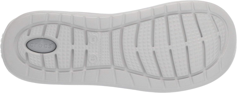 Crocs Unisex-Erwachsene Tongs Fum/ée//Blanc Perle Mixte Adulte Clogs