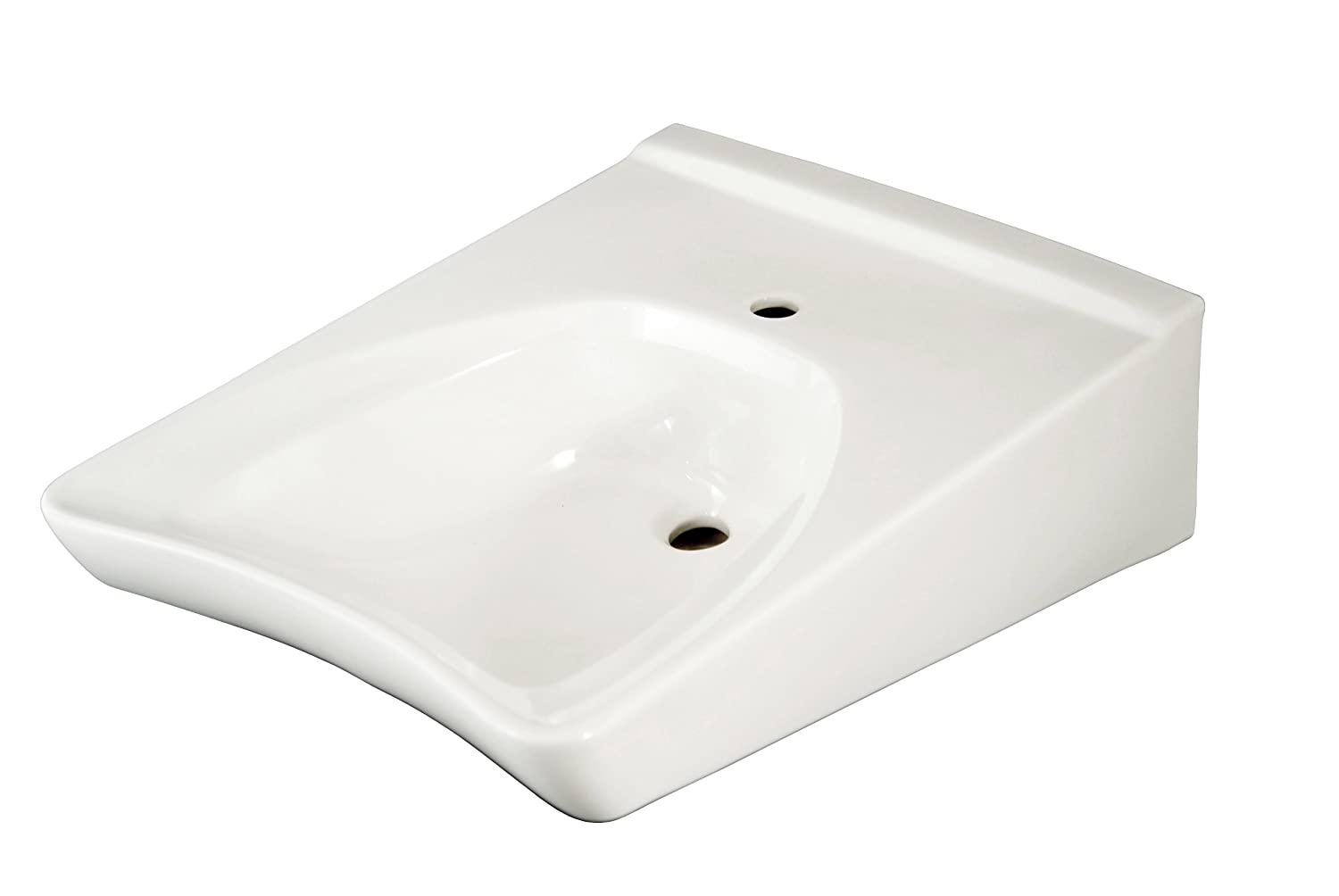 TOTO Lt Hole WallMount ADA Lavatory Cotton White Bathroom - Ada compliant commercial bathroom sinks