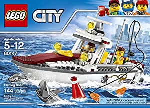 LEGO City Great Vehicles Fishing Boat 60147 Building Kit from LEGO