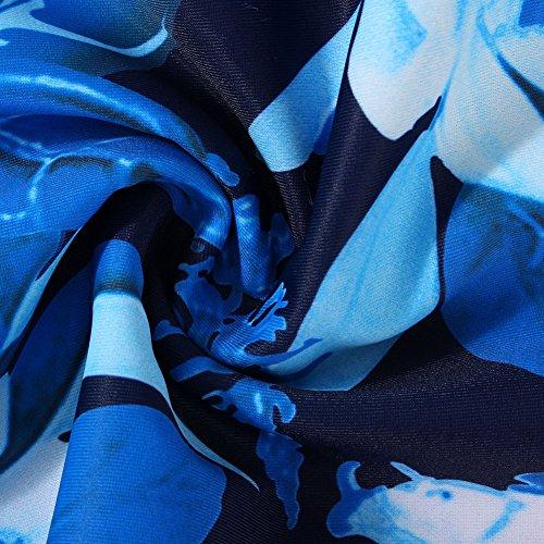 Floral 4xl 4 da 2 Donna Size Costumi Tankini Pezzi Feelingirl bagno Plus Xl xPTBq1
