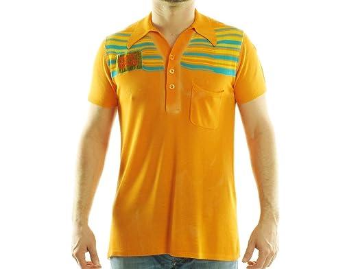 Polo Custo Barcelona homme 696801 orange - -: Amazon.es: Ropa y ...