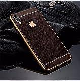 Excelsior Premium Silicon back cover case for Vivo V9 (Coffee)