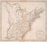 Historic 1801 Map | States of America, drawn from the best authorities | United States -- MapsMaps of North America. |