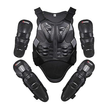 Ger-Gisntips Motocicleta Traje Jakcet Body Armor Motocicleta ...