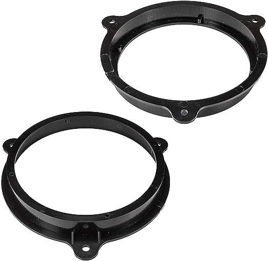 ab 2013 Tür vorne//hinten Lautsprecherringe Adapter Set für Renault Captur B