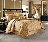 Five Queens Court Colonial 4-Piece Comforter Set, Queen Size