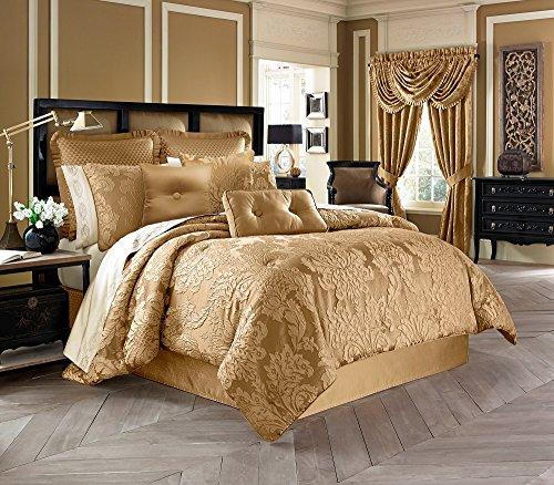 Five Queens Court Colonial 4-Piece Comforter Set, Queen Size