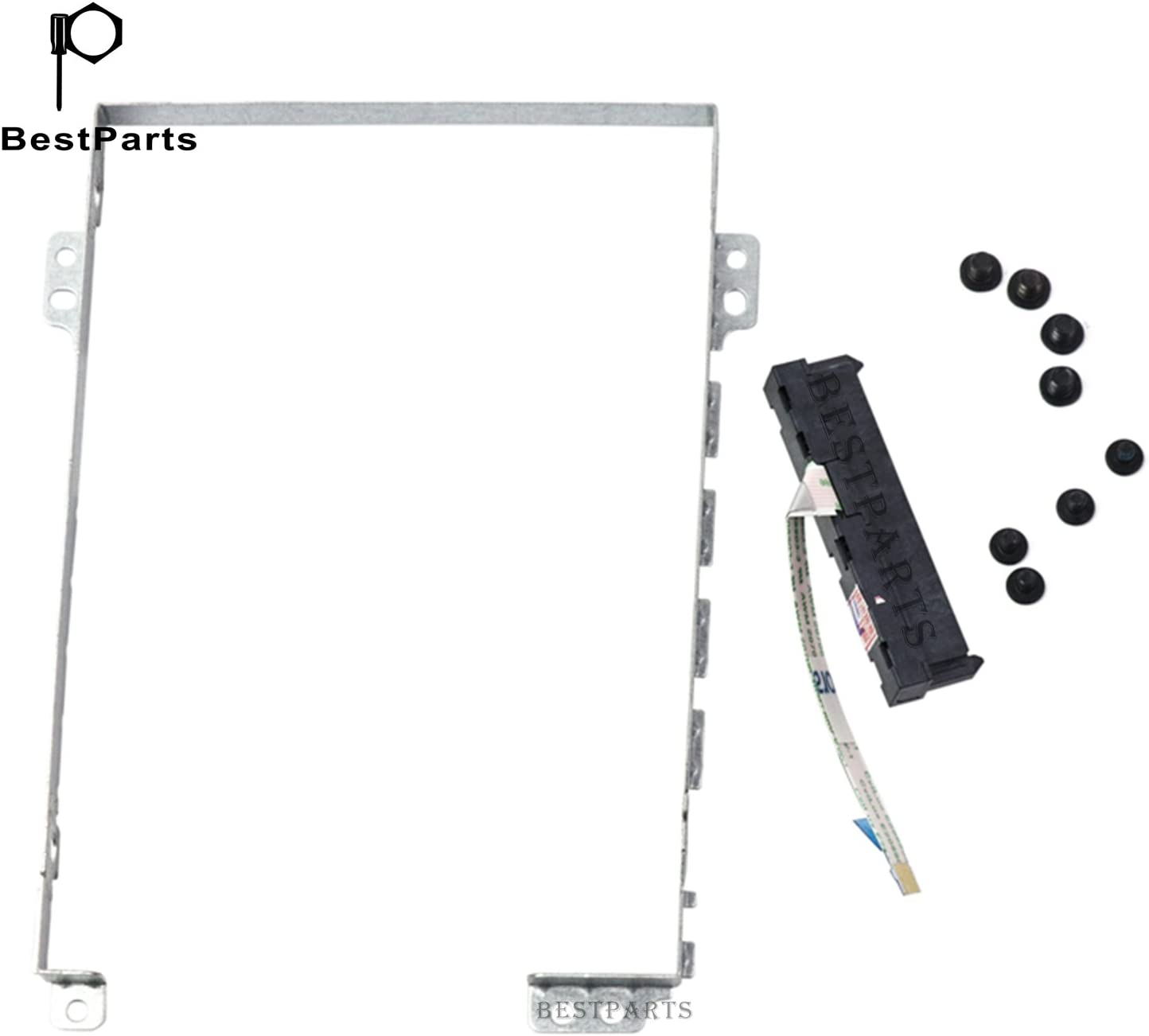 BestParts Compatible Hard Drive Disk Caddy Tray Bracket w/Cable Replacement for Lenovo Legion Y720