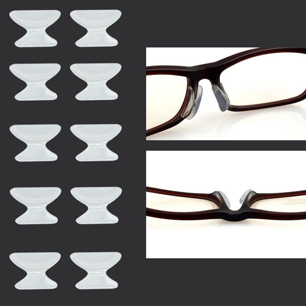 1 paio di pad in silicone per occhiali anti-slip F1My1
