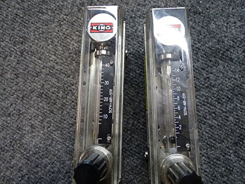 Lot of 2 NEW King Instrument SCFH-AIR-STP 74C234G04112251 250F 200PSI by King Instruments